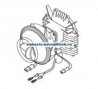 Мотор вентилятора АТ 3500ST 24В Дизель    Артикул: 9004210A