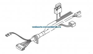 9006891 Жгут проводов дляAT 3500/5000 ST  стандарт9,5м