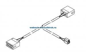 9009196A Кабельный жгут-адаптер 250/550 мм