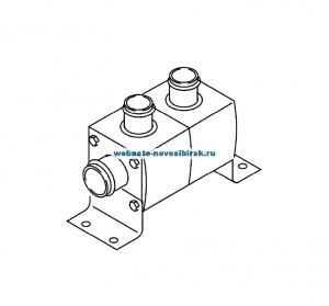 88280A Клапан обратный с запорным вентилем