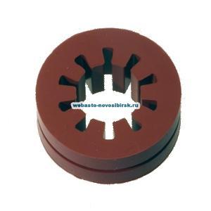 1320080A Резиновое дистанционное кольцо c пазом (красное)