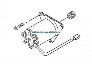 21319B Мотор вентилятора DW350 24В / СЕ