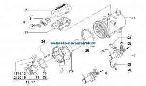 графический каталог запчастей для Thermo 90 дизель 24В