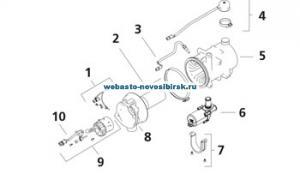 графический каталог запчастей для Thermo Pro 90 Diesel 12V