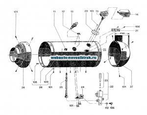 графический каталог запчастей для HL 3030.32  дизель 24 В