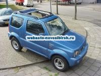 Suzuki Jimny с установленным люком  Hollandia 400 Deluxe Electric