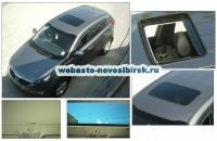 KIA Sportage с установленным люком Hollandia 735-III Comfort