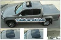 VW Amarok с установленным люком Hollandia 740-III Comfort