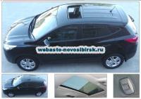 Hyundai ix35 с установленным люком Hollandia 735-III Comfort