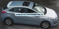 Hyundai i30 с установленным люком Hollandia 730-III Comfort