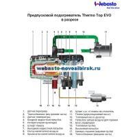 схема устройства webasto thermo top evo 5 бензин
